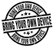 Bring your own device stamp Royalty Free Stock Images