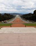 Bringen das Erinnerungs-ANZAC Parade-Parlament des Krieg-innen zurück unter Lizenzfreie Stockfotografie