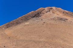 Bringen Sie Teide, Ansicht von Teleferico, Teneriffa, Kanarische Inseln, Spanien an stockbilder