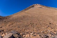 Bringen Sie Teide, Ansicht von Teleferico, Teneriffa, Kanarische Inseln, Spanien an lizenzfreie stockbilder
