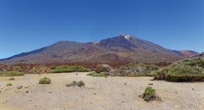 Bringen Sie Teide-vulcano in Nationalpark, Teneriffa, Kanarische Inseln an Lizenzfreie Stockbilder