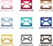 Bringen Sie uns - eMail in Kontakt Lizenzfreies Stockbild