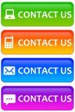Bringen Sie uns in Kontakt Lizenzfreies Stockfoto