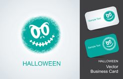 Bringing and business card Royalty Free Stock Photo