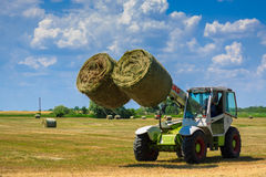 Bringing in the Hay Royalty Free Stock Image