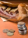 Bringing home the bacon Stock Images