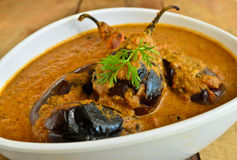 Brinjal Curry Stock Photos