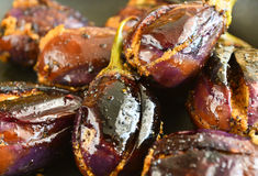 Brinjal Curry Royalty Free Stock Image