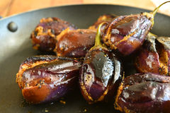 Brinjal Curry Stock Photography