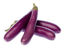 Brinjals Isolated Royalty Free Stock Photo