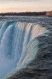 Brink of Niagara Falls Stock Photos