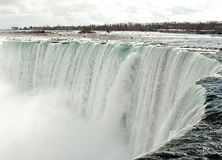 Brink of Niagara Falls Stock Photography