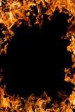 Brinnande brandram Royaltyfri Bild