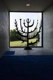 Brinnande Bush på Domus Galilaeae Royaltyfri Fotografi