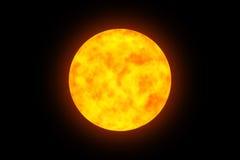 Brinnande planet 2 Arkivfoto