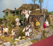 Brinque a cidade no parlamento das Ilhas Canárias 2014 Fotografia de Stock Royalty Free