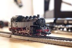Brinque a locomotiva de vapor Foto de Stock Royalty Free