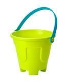 Brinque o balde da areia (o trajeto de grampeamento) Fotos de Stock