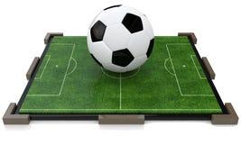 Campo de futebol do brinquedo Fotografia de Stock