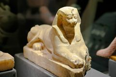 Brinque o Sphinx Fotografia de Stock