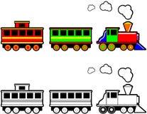 Brinque o trem Imagem de Stock