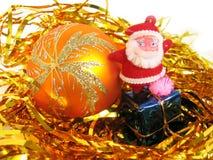 Brinque Papai Noel fotografia de stock royalty free