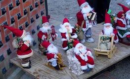 Brinque Papai Noel imagem de stock