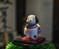 Brinquedo animal pequeno para a decoração fotografia de stock