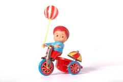 Brinquedo antigo da lata Imagem de Stock Royalty Free