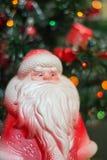 Brinquedo antiquado de Santa Claus Imagem de Stock Royalty Free