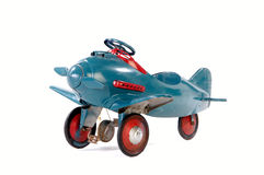 Brinquedo Ariplane do vintage Fotos de Stock Royalty Free