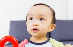 Brinquedo asiático do jogo do bebê imagem de stock royalty free