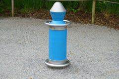 Brinquedo azul Fotos de Stock Royalty Free
