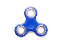 Brinquedo azul do anti-esforço do girador da inquietação imagens de stock royalty free