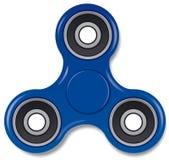 Brinquedo azul do girador Foto de Stock Royalty Free
