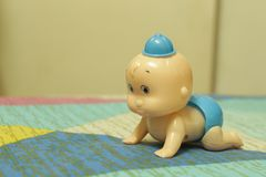 Brinquedo bonito do bebê imagem de stock