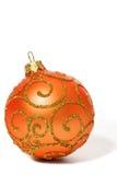 Brinquedo brilhante da esfera do Natal Fotografia de Stock