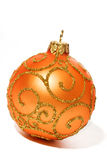 Brinquedo brilhante da esfera do Natal Foto de Stock