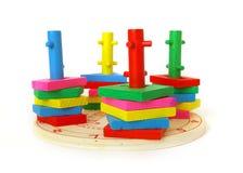 Brinquedo brilhante no branco Imagem de Stock