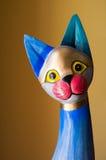 Brinquedo colorido do gato foto de stock