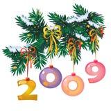 Brinquedo-dígitos do ano novo Foto de Stock Royalty Free