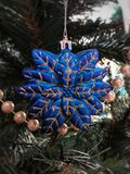 Brinquedo da árvore de Natal Foto de Stock Royalty Free