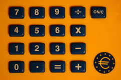 Brinquedo da calculadora Fotografia de Stock