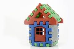 Brinquedo da casa com porta Foto de Stock Royalty Free
