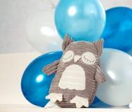 Brinquedo da coruja Fotografia de Stock