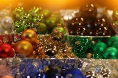 Brinquedo da decoração do Natal imagem de stock