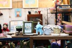 Brinquedo da decoração interior Fotos de Stock