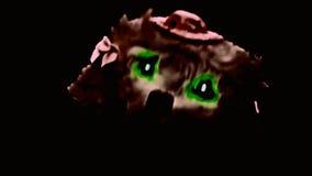 Brinquedo da escuridão do cão do inferno vídeos de arquivo