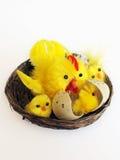Brinquedo da galinha de Easter Fotografia de Stock