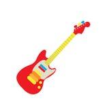 brinquedo da guitarra ilustração do vetor